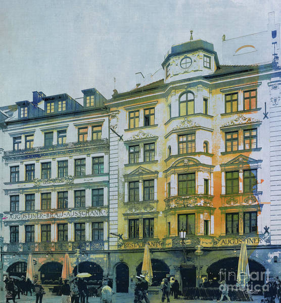 Photograph - Augustiner Munich by Jutta Maria Pusl