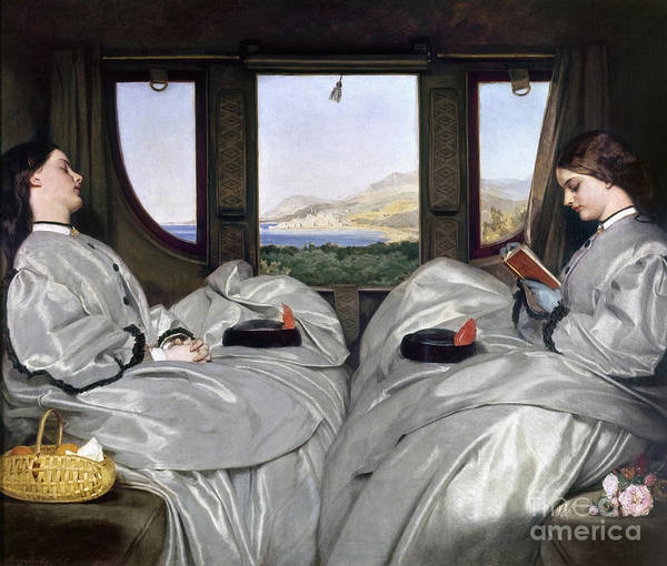 Photograph - Augustus Egg: Companions by Granger