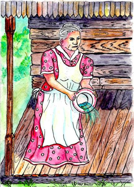 Mixed Media - Aunt Nellie by Philip Bracco