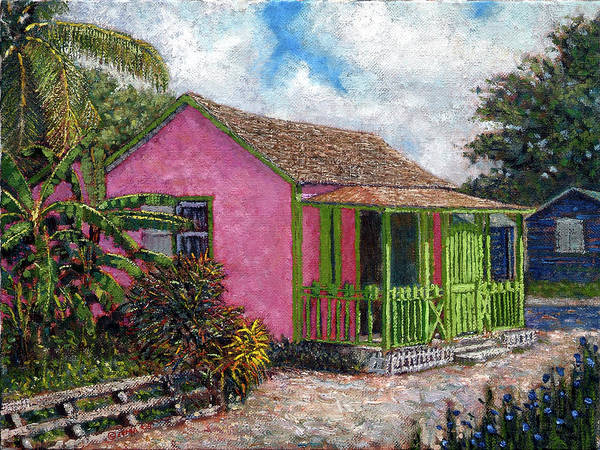 Painting - Aunt Suzy's Cottage by Ritchie Eyma