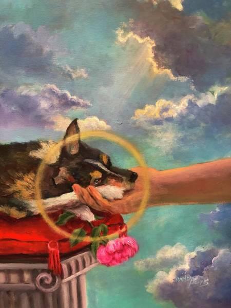 Wall Art - Painting - Aura by Randy Burns