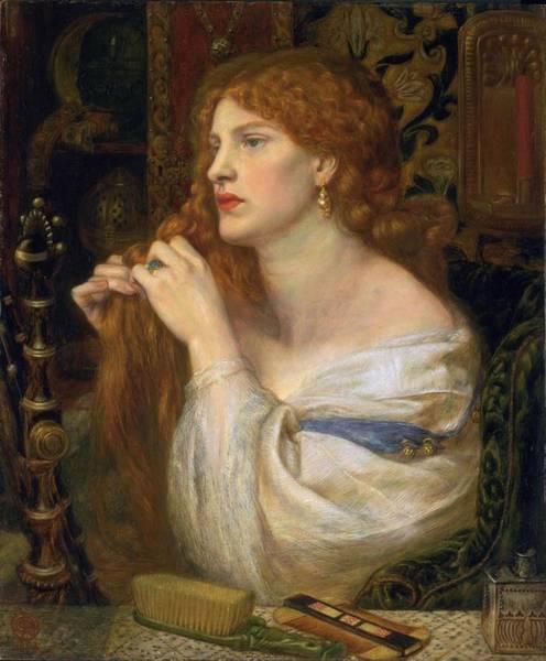 Gabriel Painting - Aurelia  by Gabriel Rossetti