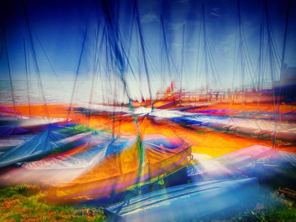 Digital Art - Aurora Boatealis  by Leigh Kemp