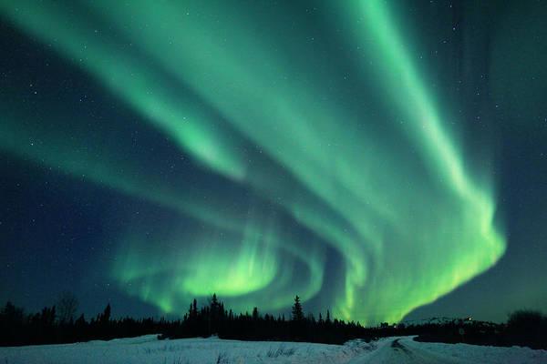 Photograph - Aurora Borealis Alaska by John Chumack