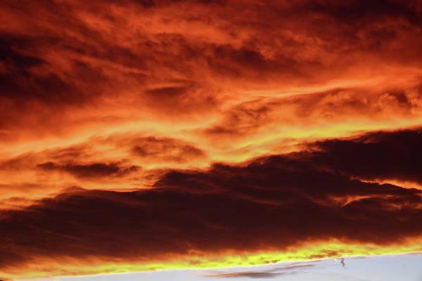 Photograph - Aurora Firey Sunset by John McArthur