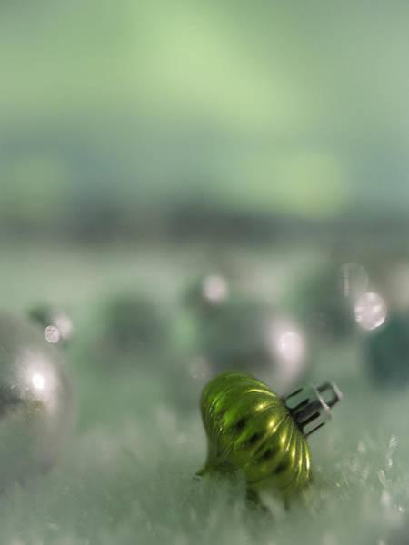 Photograph - Aurora Green Ornament by Ian Johnson