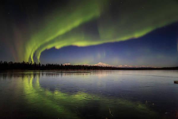 Photograph - Aurora Lake by Ed Boudreau