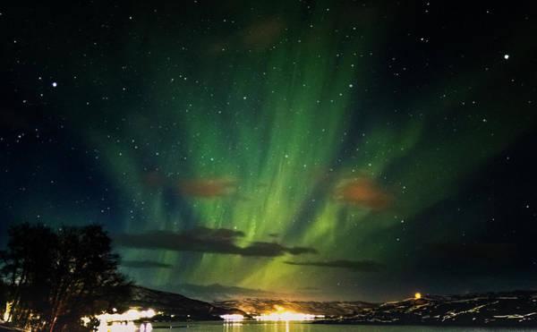Photograph - Aurora Northern Lights Over Rafsbotn by Adam Rainoff