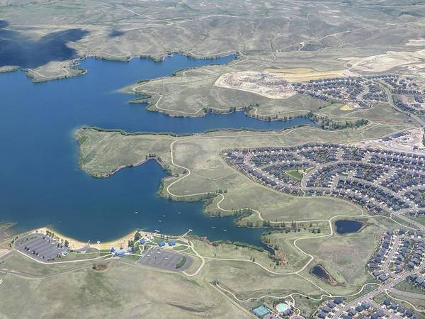 Arapahoe County Wall Art - Photograph - Aurora Reservoir - Airplane Photography by Connor Beekman