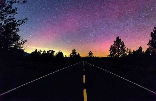 Wall Art - Photograph - Aurora Road by Cat Connor