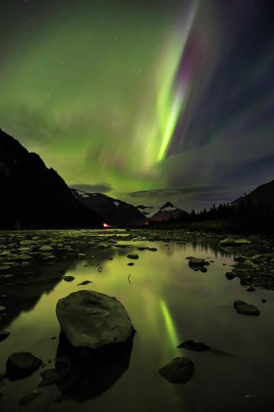 Photograph - Aurora South by Ed Boudreau