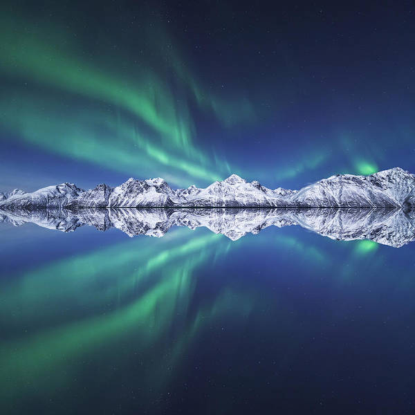 Wall Art - Photograph - Aurora Square by Tor-Ivar Naess