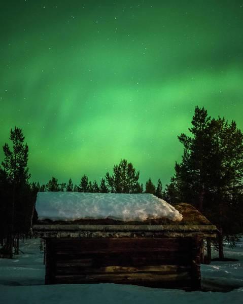 Photograph - Aurora Storm At The Sapmi Village Karasjok Norway by Adam Rainoff