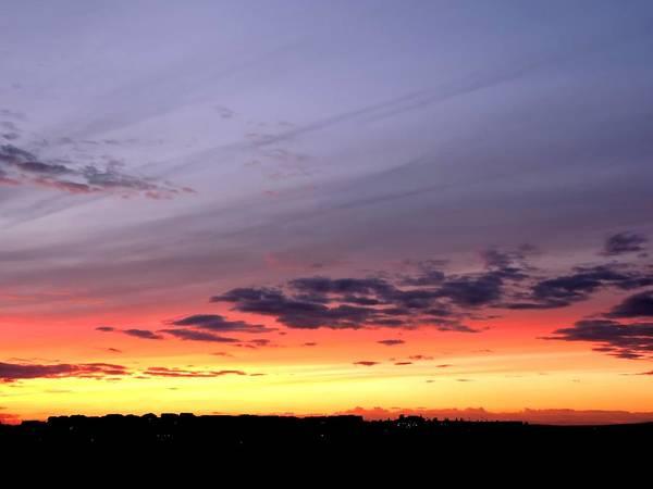 Arapahoe County Wall Art - Photograph - Aurora Sunset by Connor Beekman