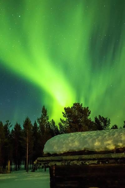 Photograph - Aurora Tornado Above Karasjok Norway by Adam Rainoff