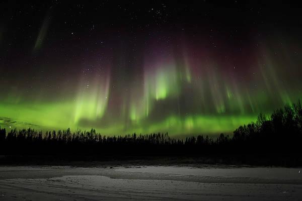Photograph - Aurora Wall by Ed Boudreau