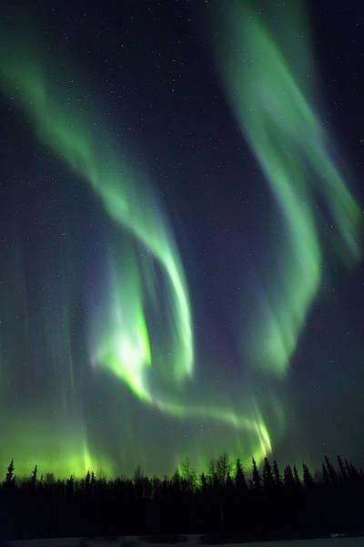 Photograph - Aurora Wave by Ed Boudreau
