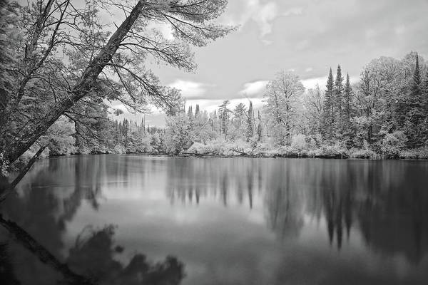 Wall Art - Photograph - Ausable River Infrared 6109 by Michael Peychich