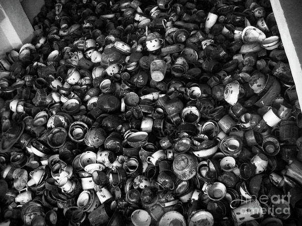 Concentration Camp Photograph - Auschwitz-birkenau Bowls by RicardMN Photography