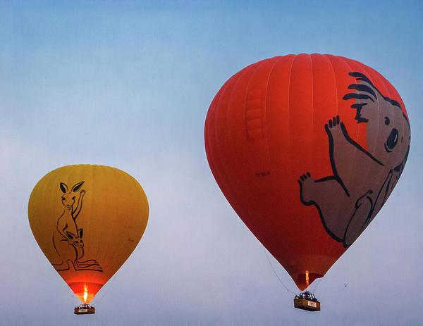 Atherton Tablelands Photograph - Aussie Balloons - Cairns - Queensland by Paul Robertson