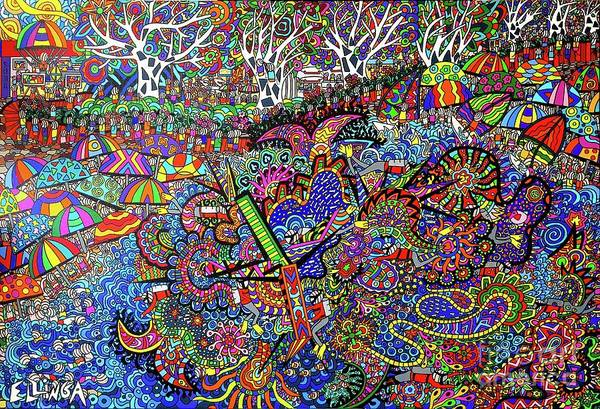 Wall Art - Painting - Aussie Culture by Karen Elzinga
