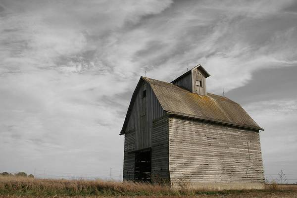 Old Barns Wall Art - Photograph - Austerity by Dylan Punke
