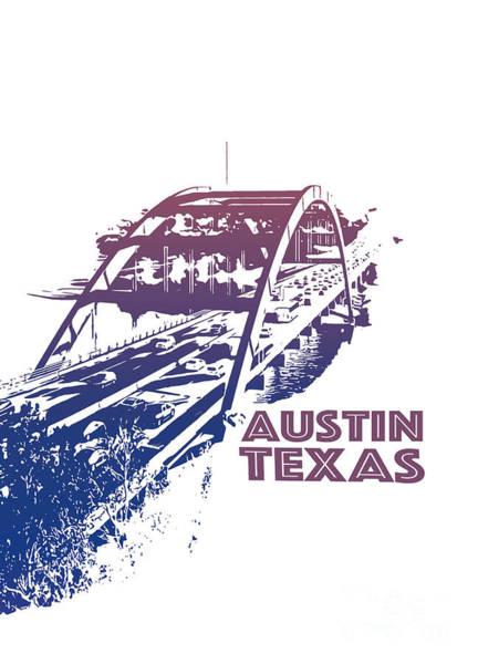 Photograph - Austin 360 Bridge, Texas by PorqueNo Studios