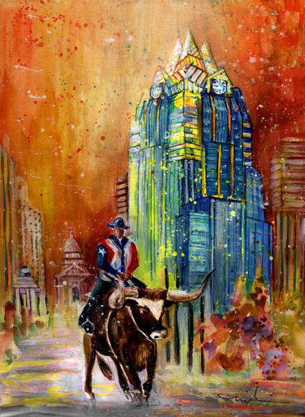 Painting - Austin Authentic 01 by Miki De Goodaboom