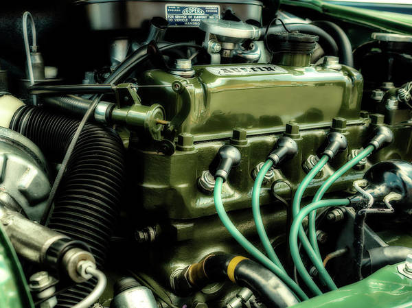 Photograph - Austin Engine by Nick Bywater