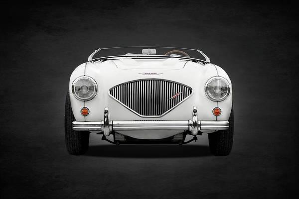 Healey Photograph - Austin Healey 100 Le Mans by Mark Rogan