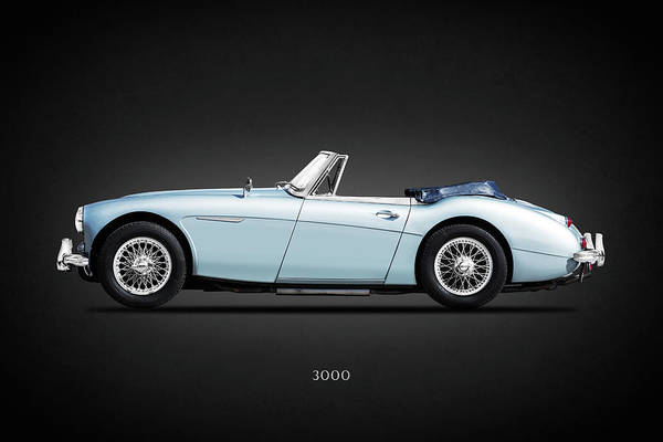 Wall Art - Photograph - Austin Healey 3000 Mk3 by Mark Rogan