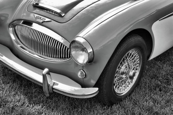 Photograph - Austin Healey Sprint Bw by David King