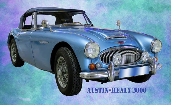 Photograph - Austin-healy 3000 by Ericamaxine Price