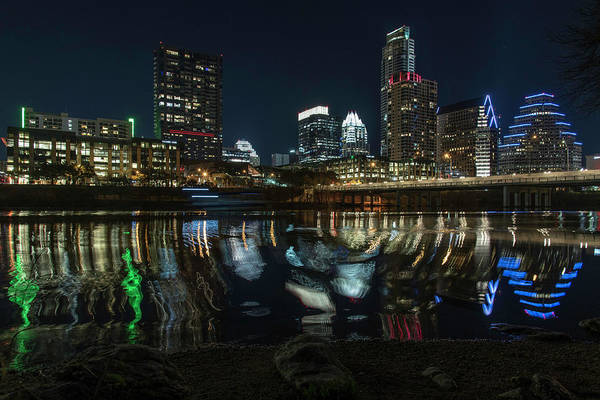 Photograph - Austin Reflections by Jay Anne Boza