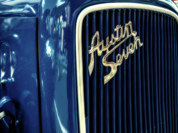 Photograph - Austin Seven by Nick Bywater