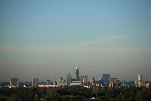 Photograph - Austin Skyline by Frank Romeo