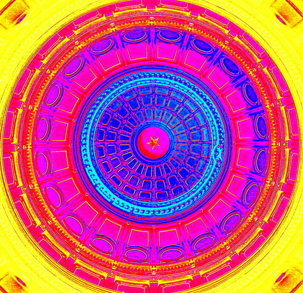 Austin Capitol Dome - 1 Art Print
