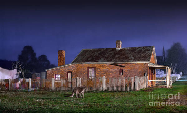 Photograph - Australia By Night by Russell Brown