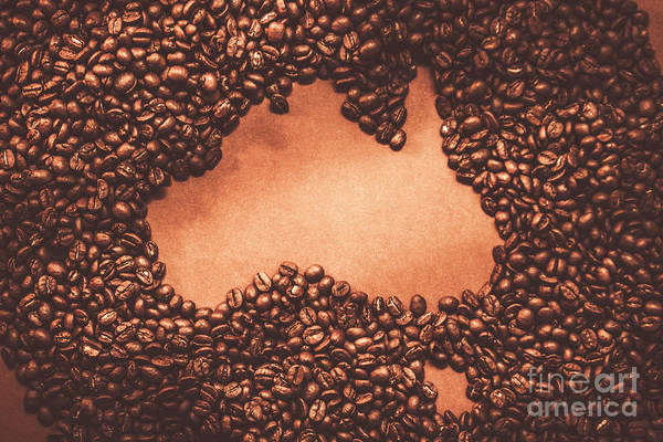 Map Photograph - Australian Made Coffee by Jorgo Photography - Wall Art Gallery
