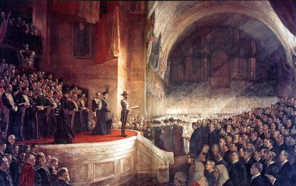 Painting - Australian Parliament  by Tom Roberts