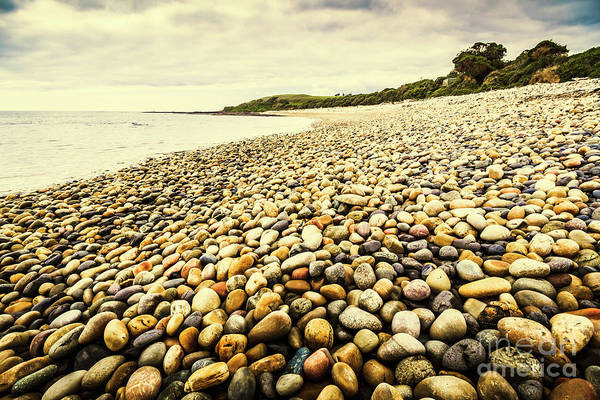 Stone Wall Wall Art - Photograph - Australian Rocky Shoreline by Jorgo Photography - Wall Art Gallery