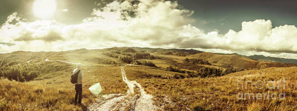 Tourist Wall Art - Photograph - Australian Rural Panoramic Landscape by Jorgo Photography - Wall Art Gallery