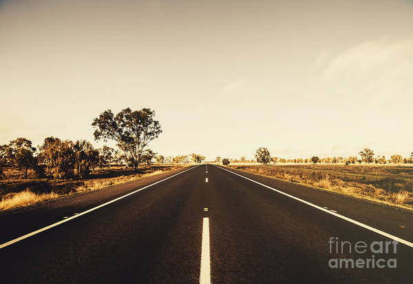 West Wales Photograph - Australian Rural Road by Jorgo Photography - Wall Art Gallery
