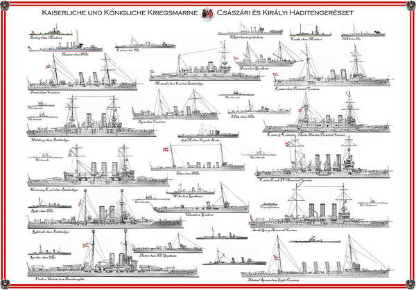 Wall Art - Painting - Austro-hungarian Navy by The Collectioner