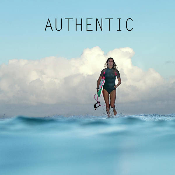 Surfer Girl Wall Art - Photograph - Authentic by Sean Davey