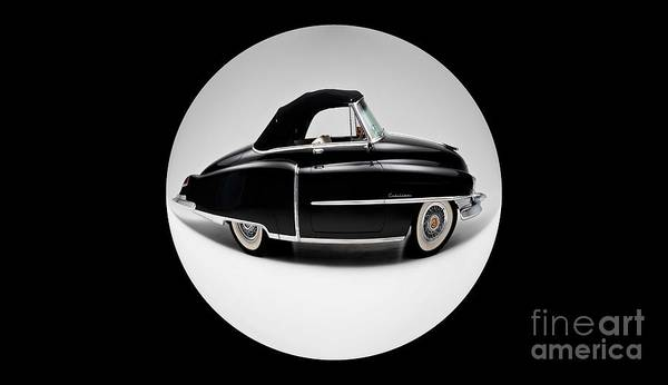 Distortions Digital Art - Auto Fun 01 - Cadillac by Variance Collections