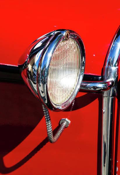 Photograph - Auto Headlight by Arthur Dodd