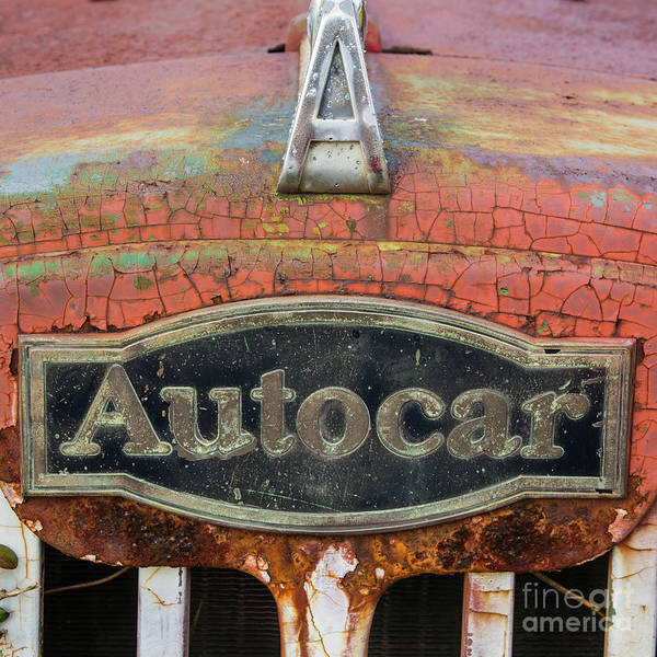 Photograph - Autocar by Terry Rowe