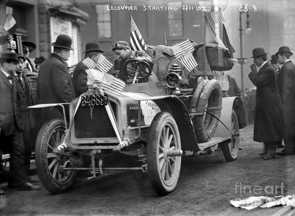 Photograph - Automobile Race, 1908 by Granger
