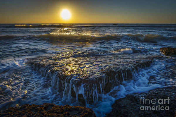 Photograph - Autum Sunset At Torregorda Beach San Fernando Cadiz Spain by Pablo Avanzini